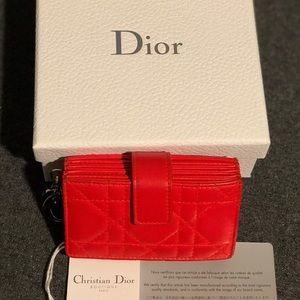 Lady dior Card Holder